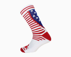 American Flag Athletic Socks