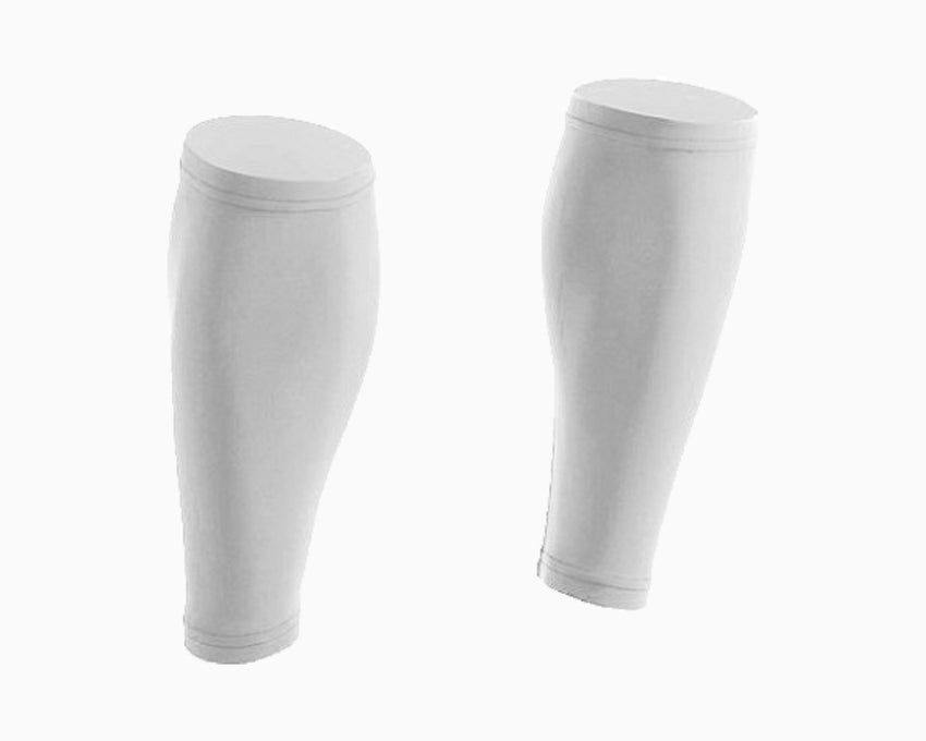Pair of White Calf Sleeves