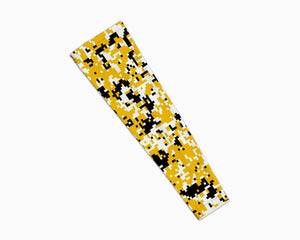 Yellow Black Digi Arm Sleeves