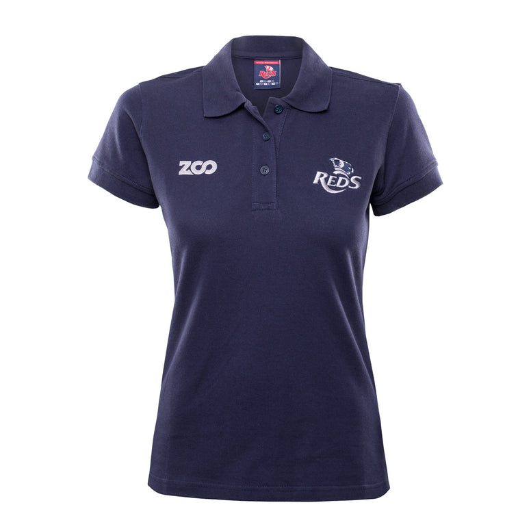 2018 Ladies QRU Cotton Supporter Polo
