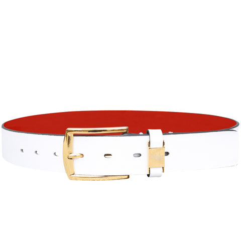 Cohen White Montaria Belt