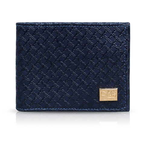 Declan Blue Caged Wallet