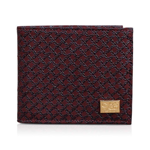 Jordan Bordeaux Caged Wallet