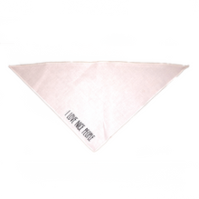 Small dog bandana from I Love Nice People!