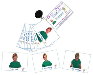 Emotions, feeling, picture cards Autism visual aids