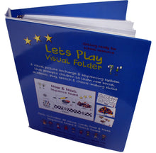 Lets Play Choice Folder, PECS activity folder for people with Autism