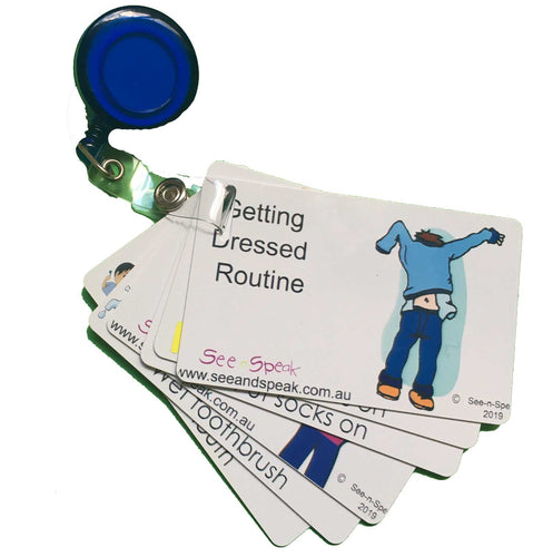Personal Care Routine Cards