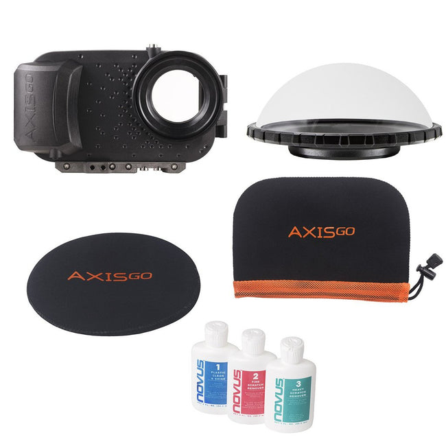 AxisGO Pro Underwater Housing Over & Under Kit For iPhone 11 Pro Max & iPhone Xs Max