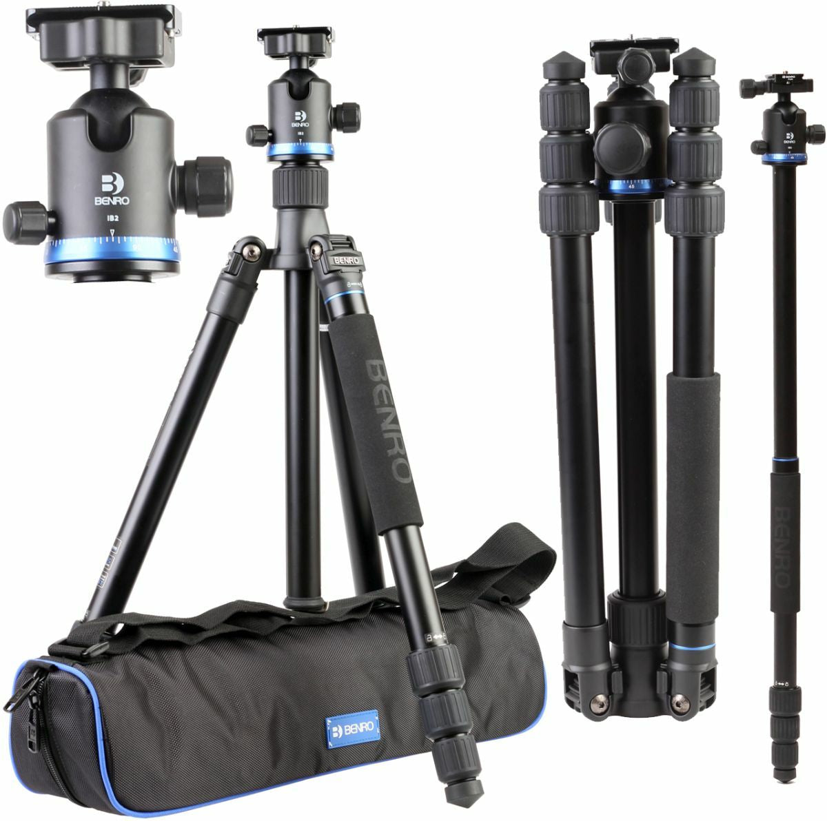 Benro iFoto Series 1 Carbon Fibre Tripod Kit With Ball head