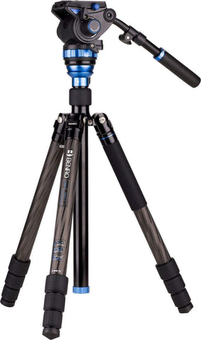 Benro A2883F (S4 Head) Aero4 Travel Angel Video Tripod Kit