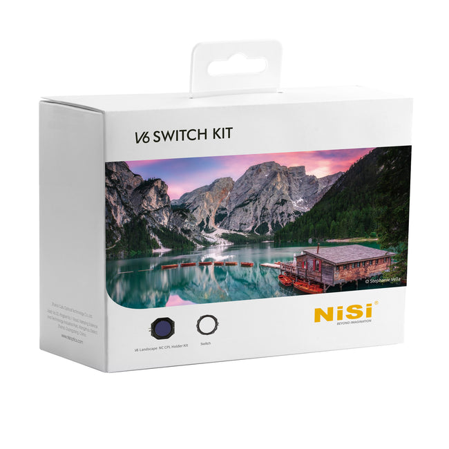 Nisi V6 Switch 100mm Filter Holder Kit with Enhanced Landscape CPL & Switch