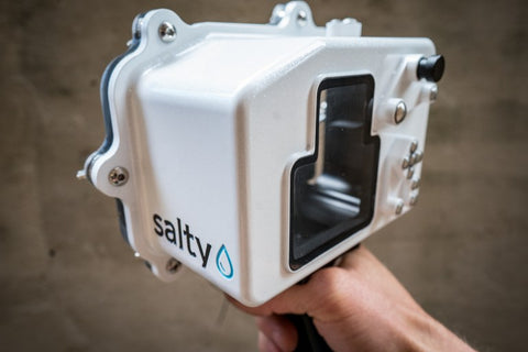 Salty Fujifilm X-T2 Boosted Underwater Housing