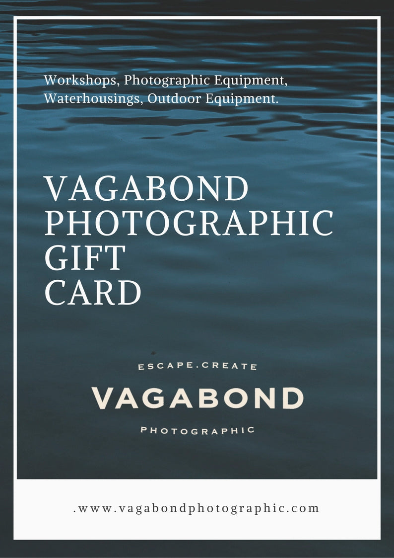 Vagabond Photographic Gift Card