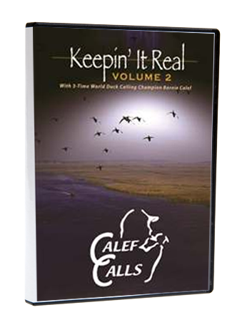 Keepin It Real- Volume 2 Duck Calling Waterfowl Hunting DVD