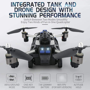JJRC H40WH Quadcopter Drone Tank with 720P Camera - GLOBAL DRONE MARKET