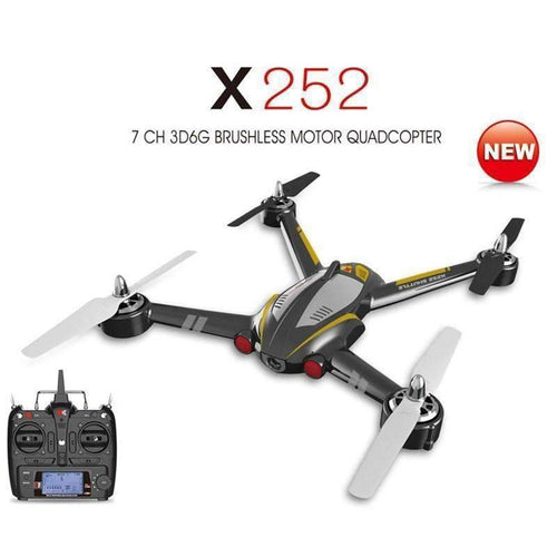 XK X252 with 720P Wide-Angle HD Camera - GLOBAL DRONE MARKET