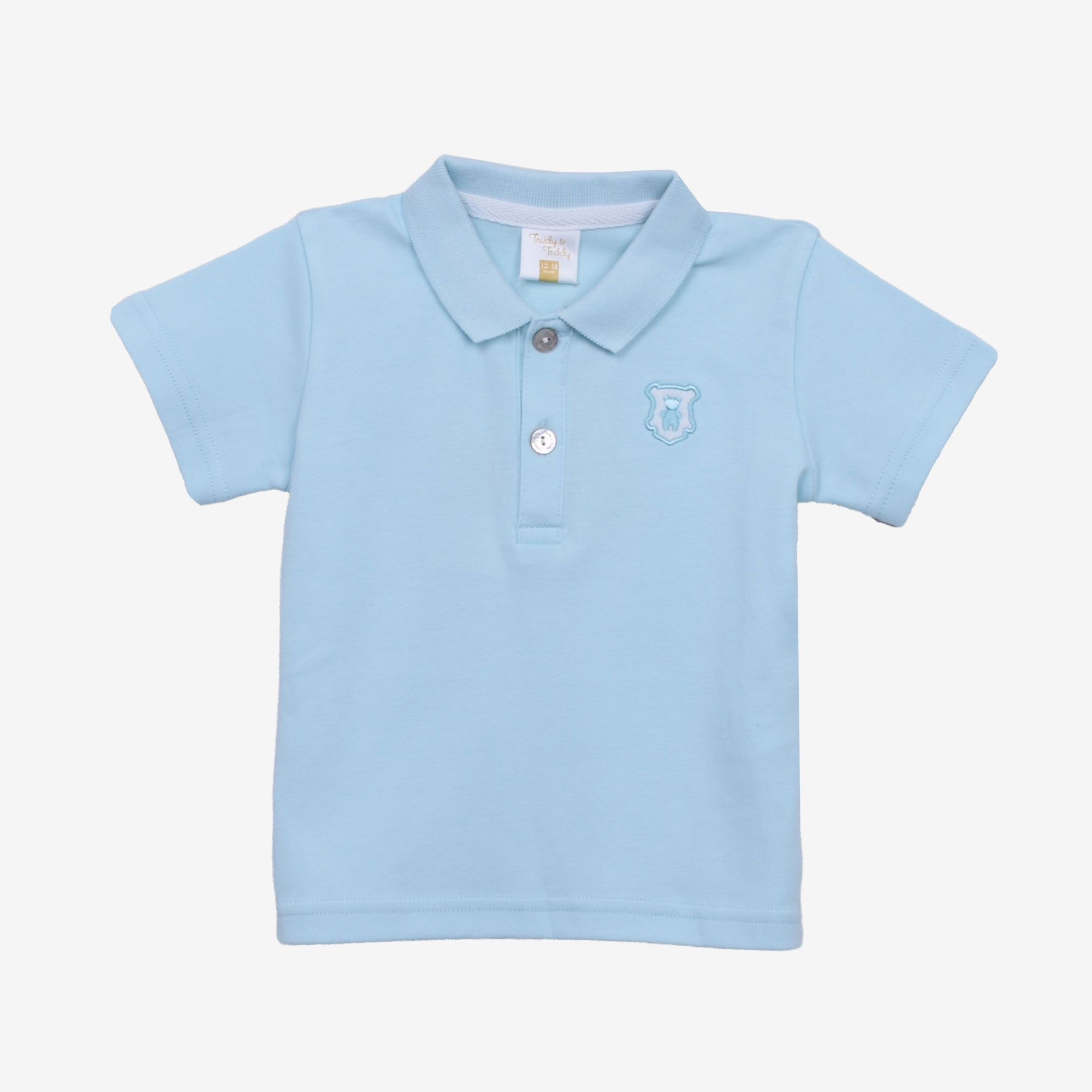 Boy Short Sleeve Collar Tee