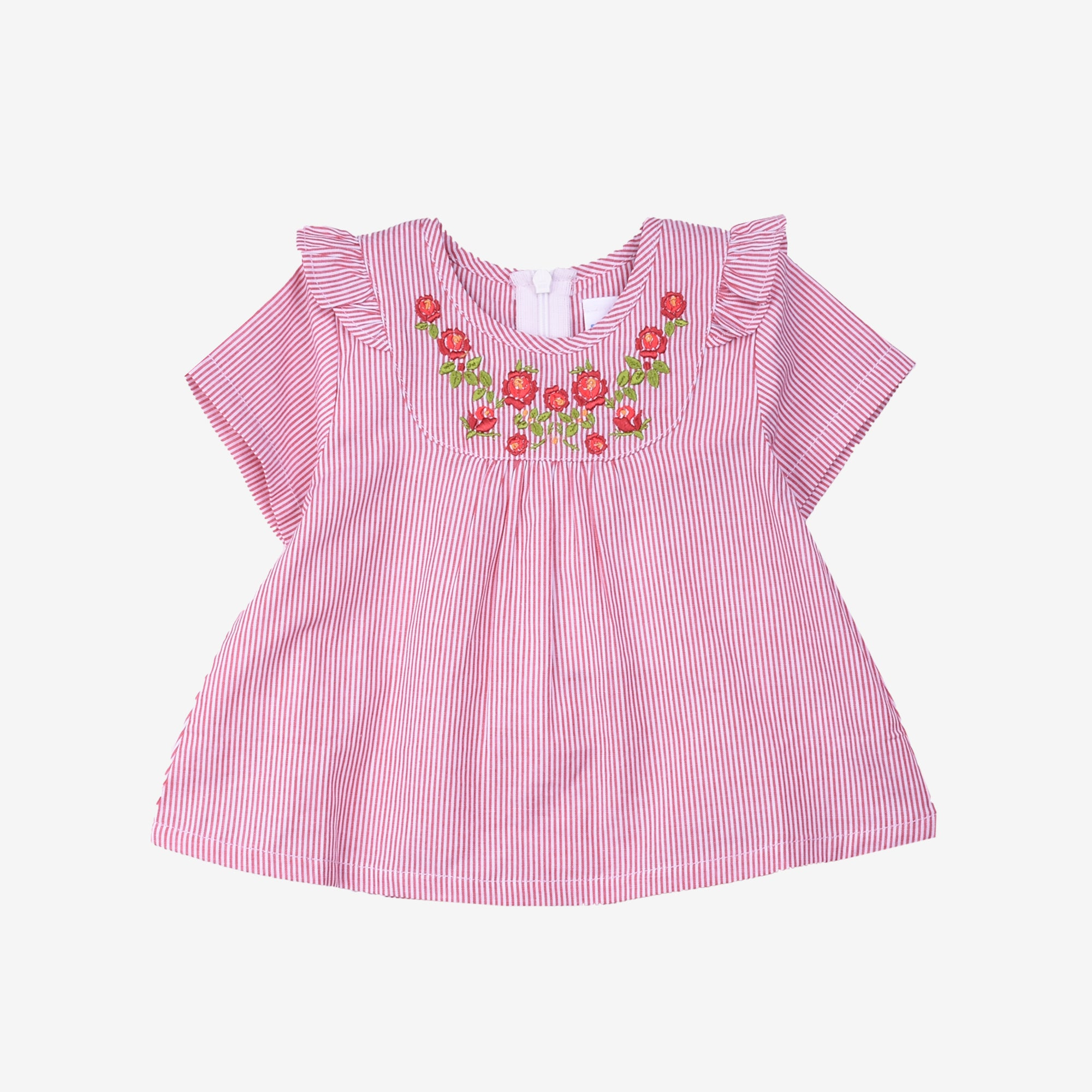 Baby Girl Short Sleeve Blouse