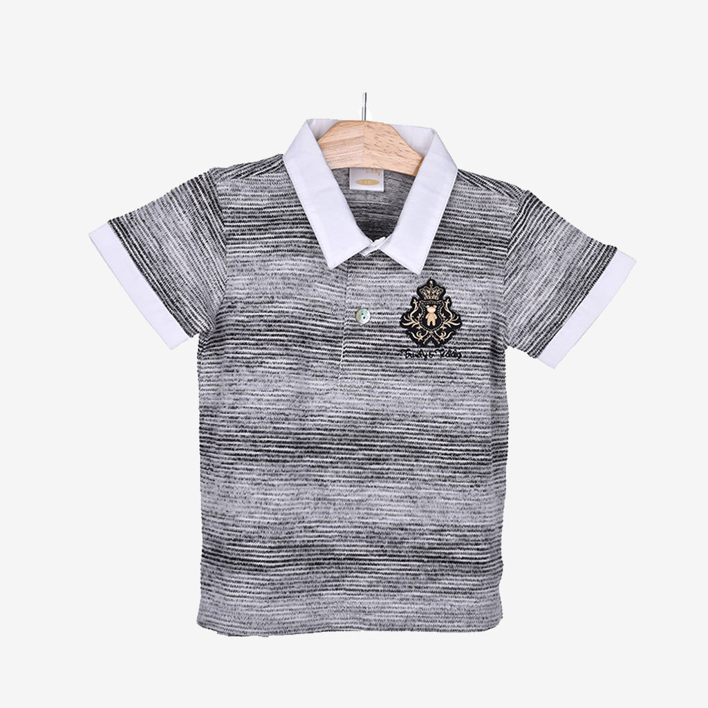 Short Sleeve Collar Tee