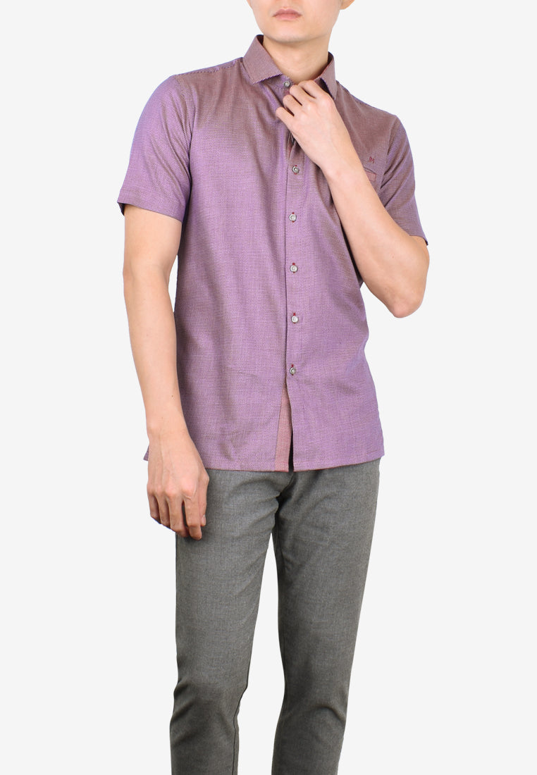 Casual Short Sleeve - Tapered Fit