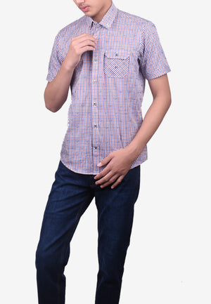 Casual Short Sleeve Shirts - Modern Fit