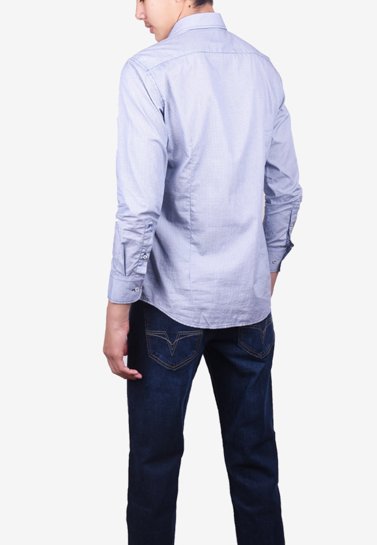 Business Long Sleeve Shirt - Modern Fit 7087984-L9