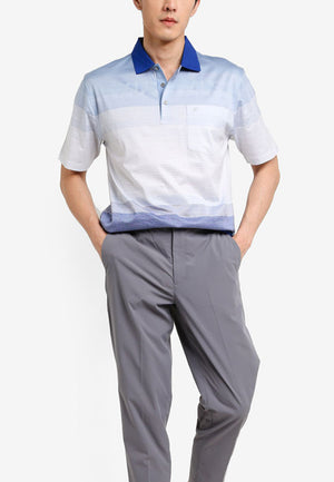 Casual Italian Mercerized Polo - Regular Fit