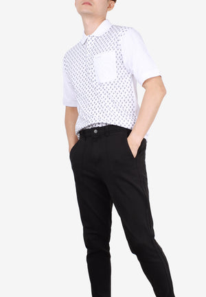 John Master Casual Polo - Regular Fit 8129009-AO