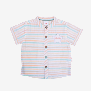 Lolipop Short Sleeve Shirt With Star Badge