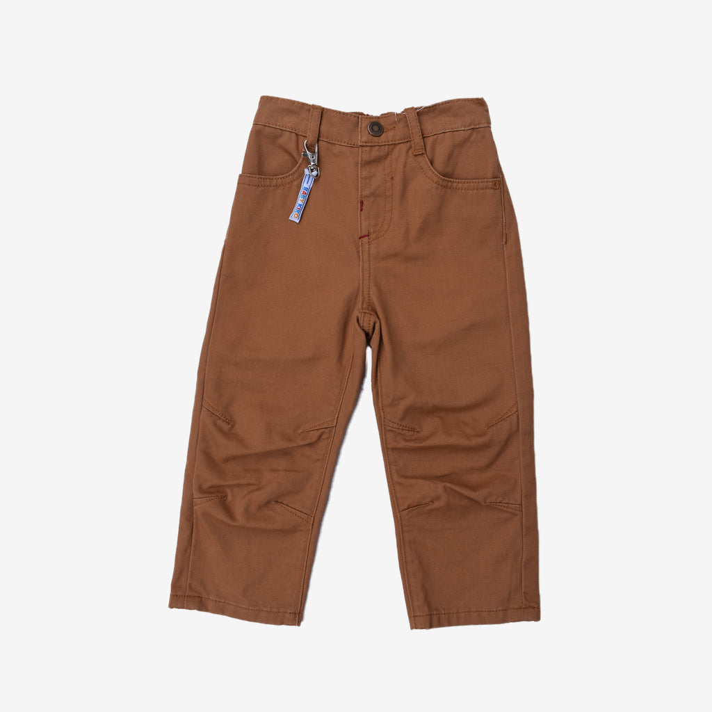 Basic Khaki Long Pants - Regular Fit