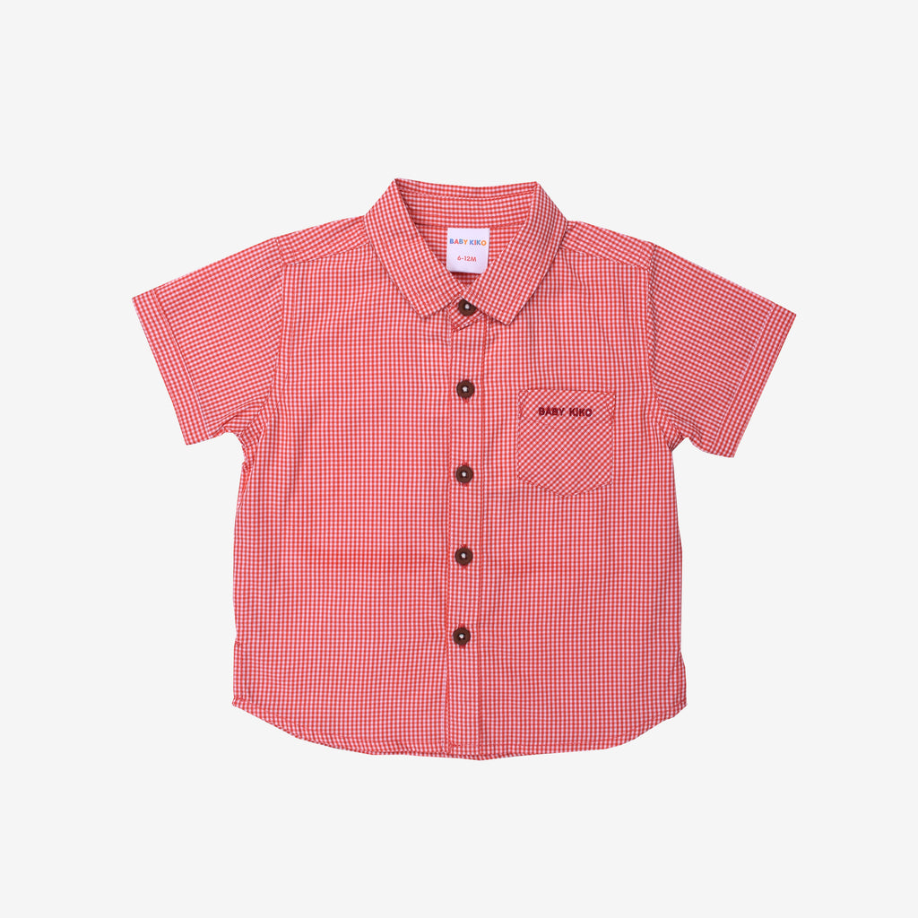 Holiday Summer 100% Cotton Short Sleeve Shirt