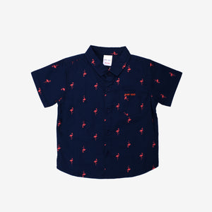 Holiday Night 100% Cotton Short Sleeve Shirt