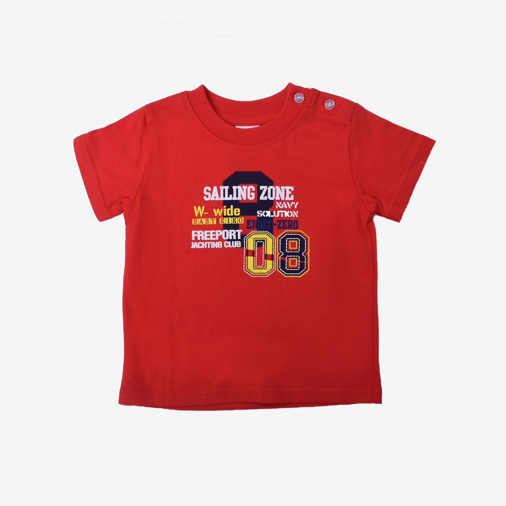 Positive Vibes Short Sleeve Tee- Red