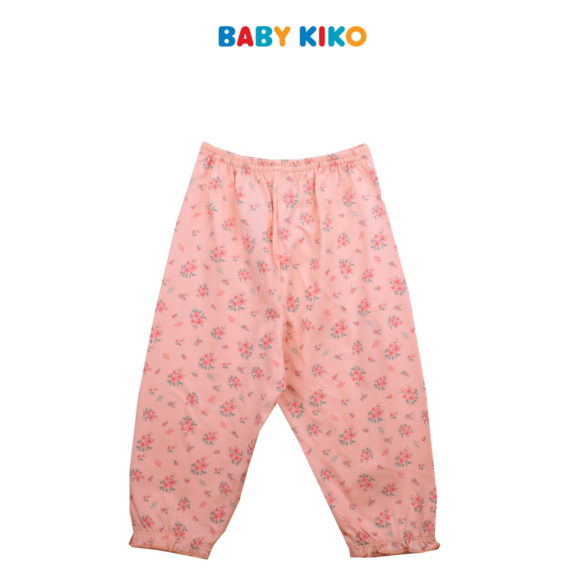 BABY KIKO BABY GIRL SLEEP WEAR LONG SLEEVE LONG PANTS SUIT - LIGHT PINK B924104-4322-P1 : Buy Baby KIKO online at CMG.MY
