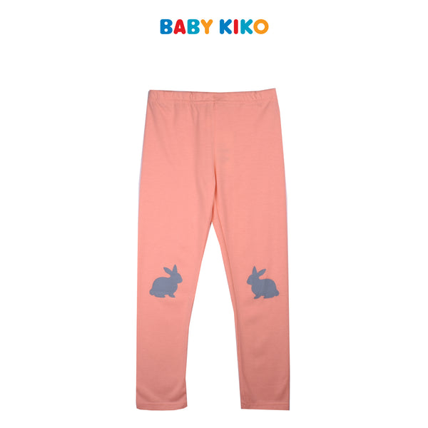 BABY KIKO BABY GIRL CORE KNIT LONG LEGGINGS  - PINK B924105-2869-P5