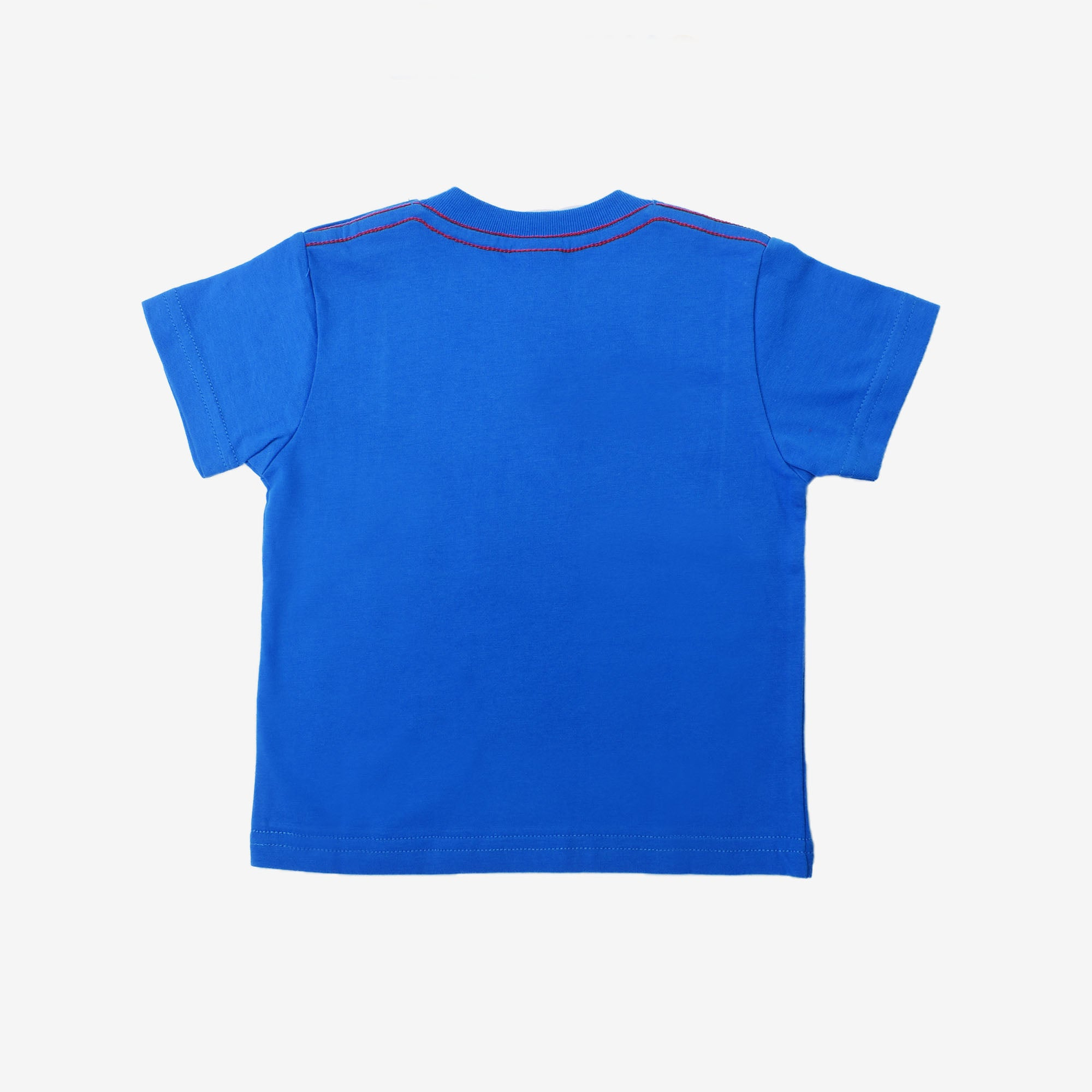 Strong Man Graphic Short Sleeve Tee- Blue