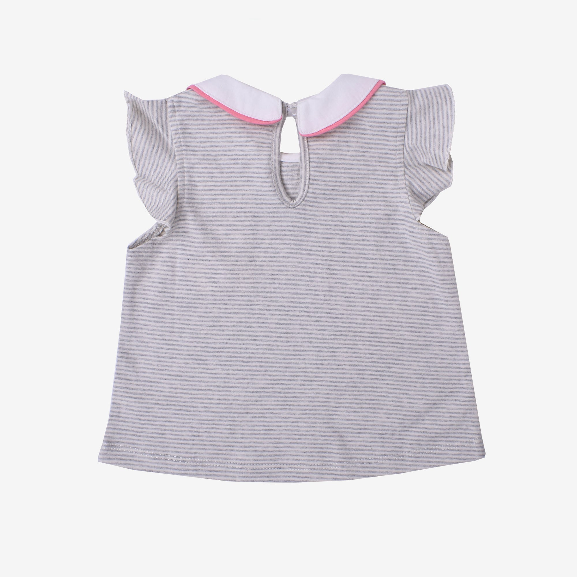 Nutracker Petar Pan Collar Short Sleeve Tee