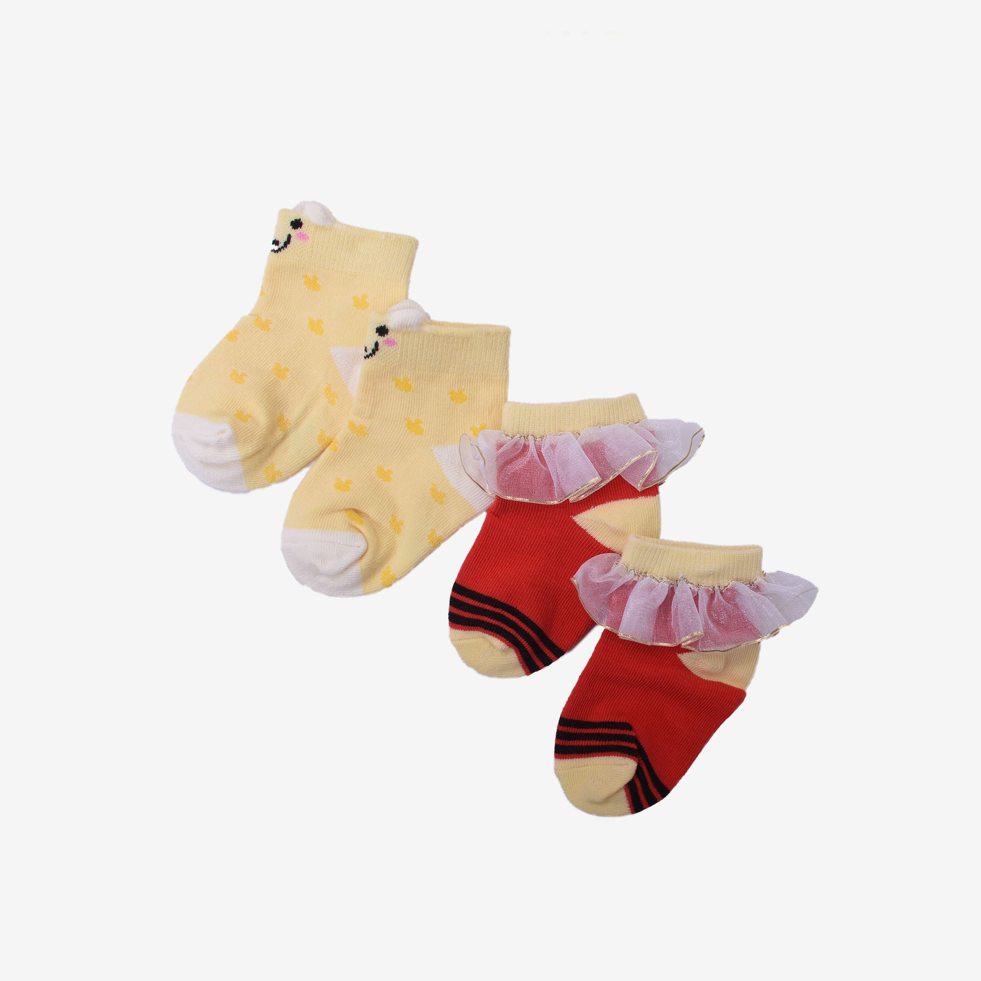 Honey Assorted Socks 2 in 1