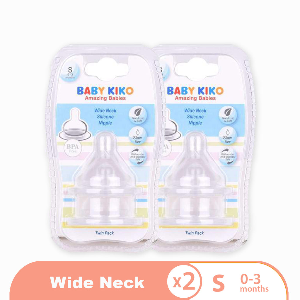 Regular Neck Silicone Nipples