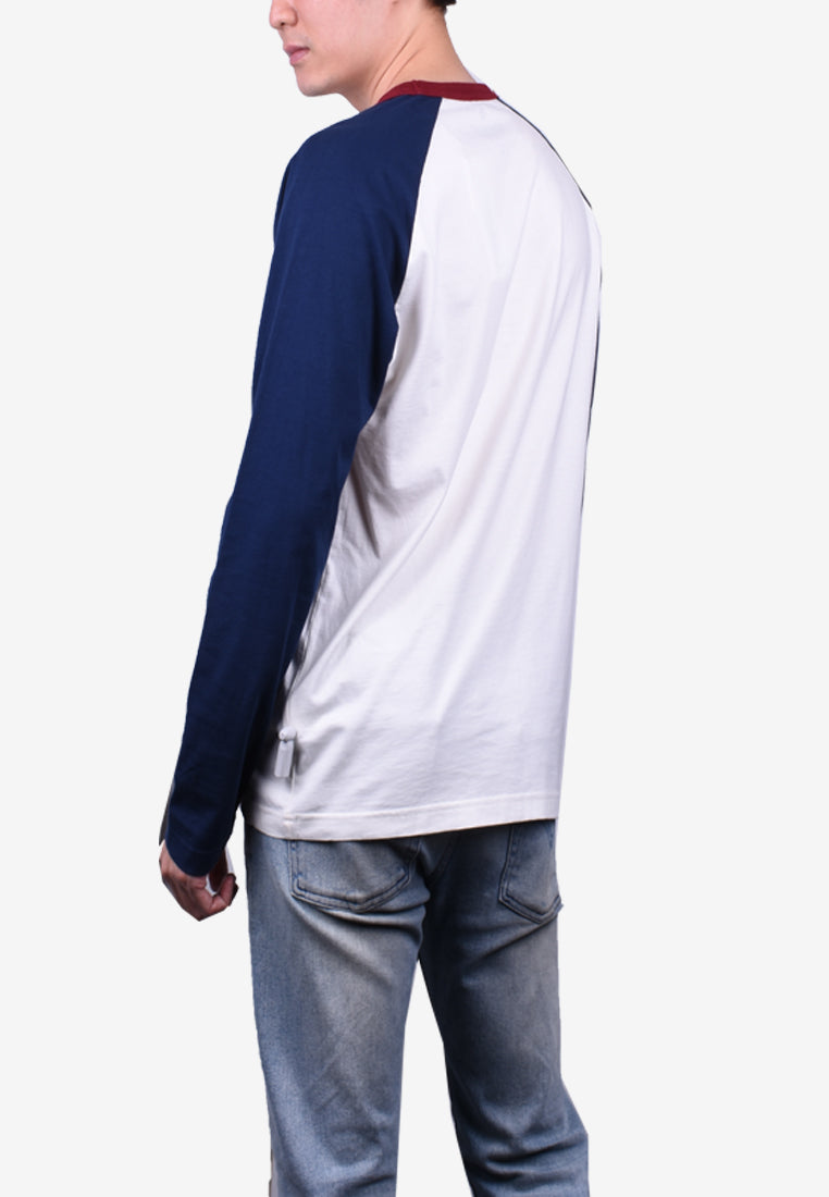 Casual Long Sleeve Tee - Modern Fit