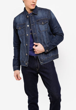 Casual Denim Jacket - Modern Fit