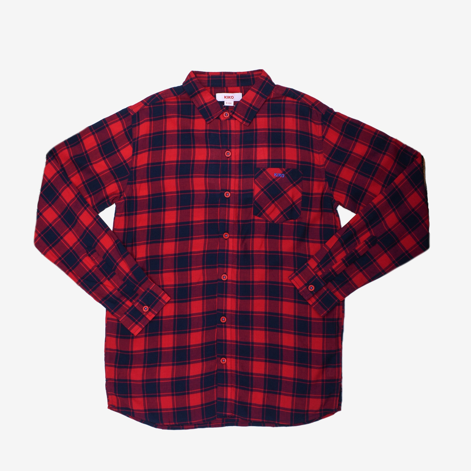 Vintage Checked Long Sleeve Shirt