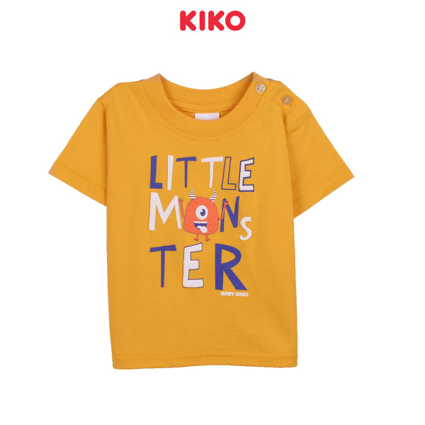 KIKO BOY BASIC SHORT SLEEVE TEE - YELLOW K922103-1126-Y5