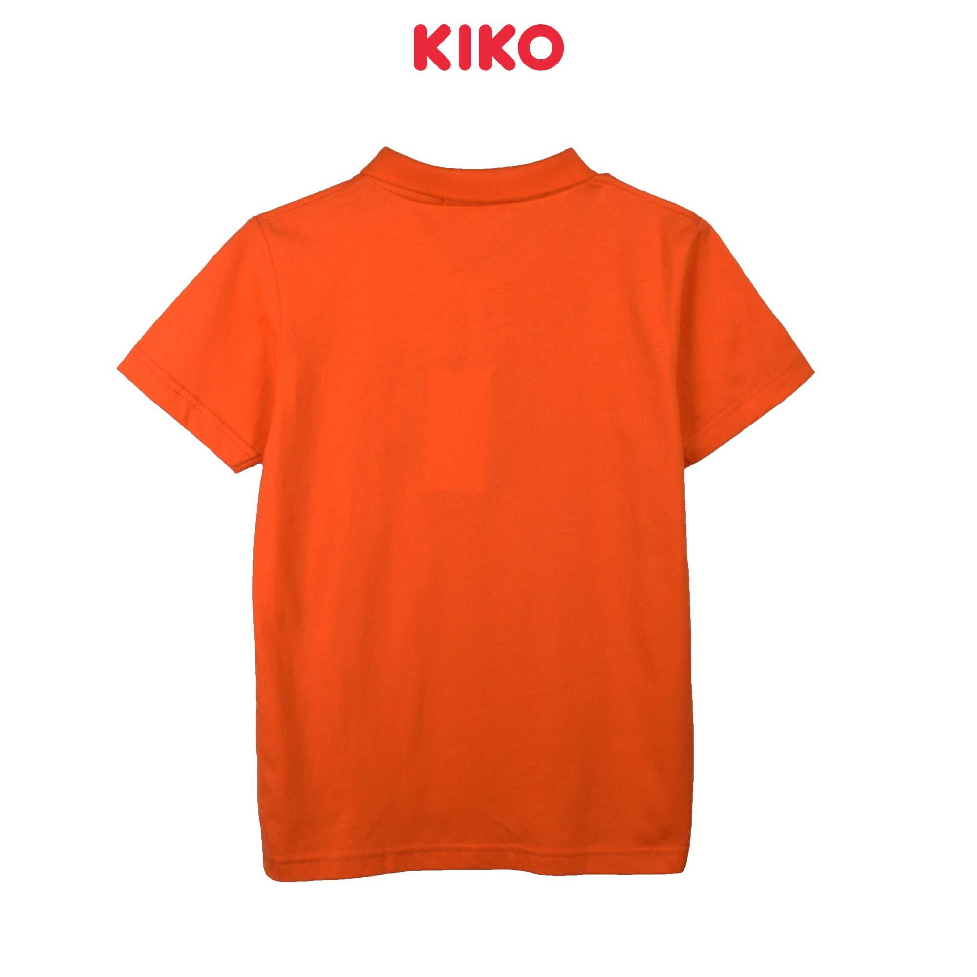 KIKO BOY BASIC SHORT SLEEVE COLLAR TEE - ORANGE K922103-1293-E5 : Buy KIKO online at CMG.MY