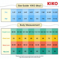 KIKO BOY BASIC SHORT SLEEVE COLLAR TEE - BLUE K922103-1296-L5 : Buy KIKO online at CMG.MY
