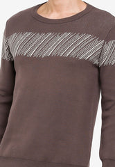 John Henry Men Sweater - DARK GREY  SW18FH008D-LB