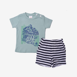 Parisian Short Sleeve Bermuda Set