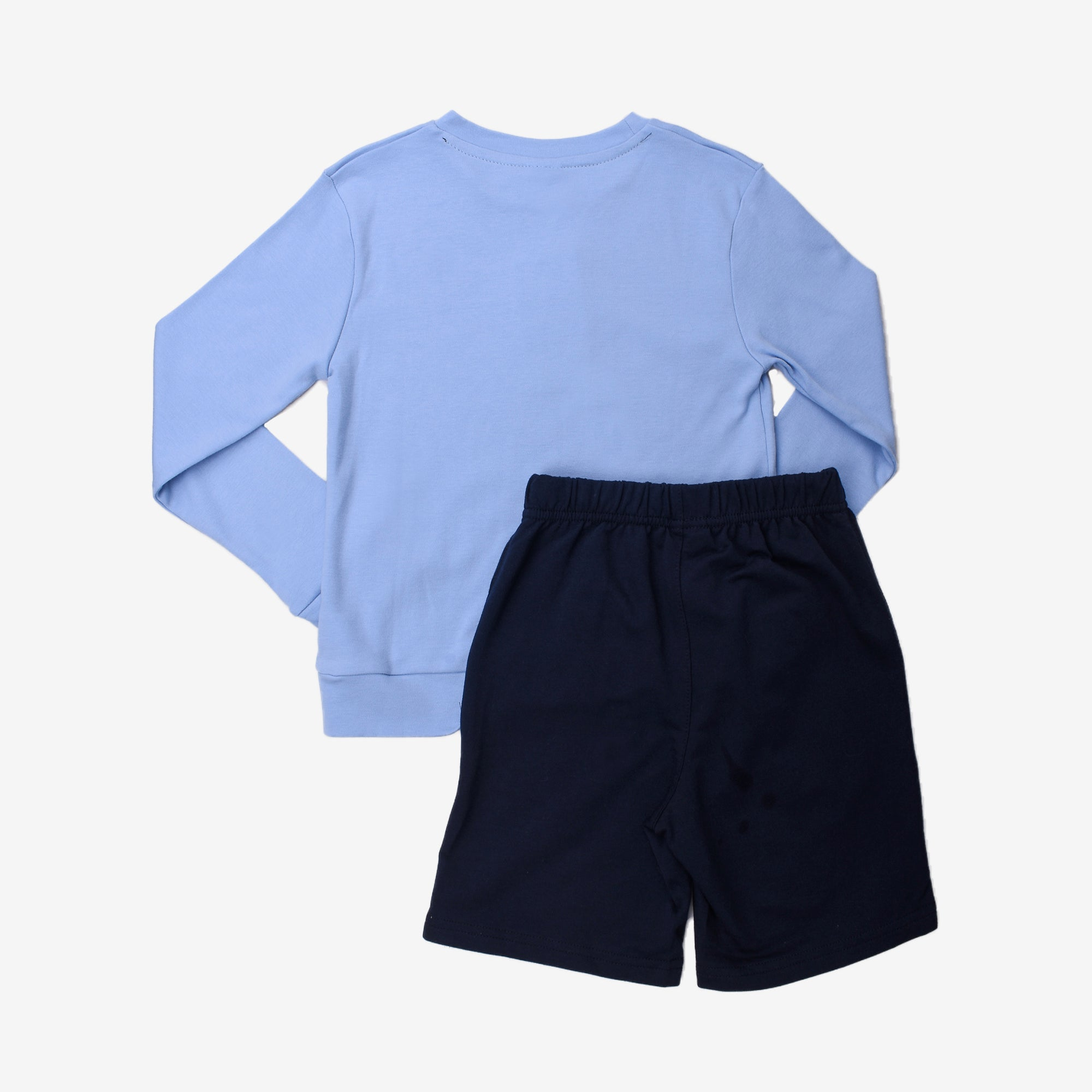 Marine Wonder Long Sleeve Bermuda Set