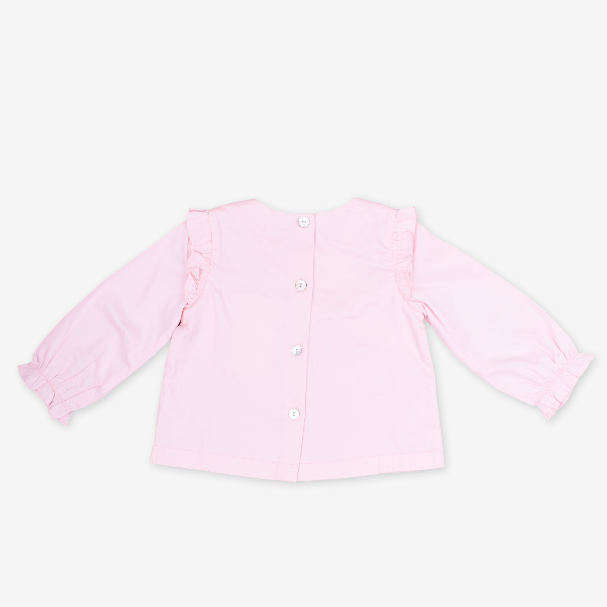Light Pink Long Sleeve Blouse