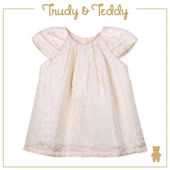 Trudy & Teddy Baby to Kid Girl Short Sleeve Dress - Yellow T915002-3105-Y5 : Buy Trudy & Teddy online at CMG.MY